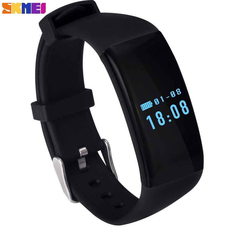 цена на SKMEI 2018 New Smart Watch Fashion Sports Watch Call Message Reminder Heart Rate Monitor ios Android Men Ms waterproof Watch