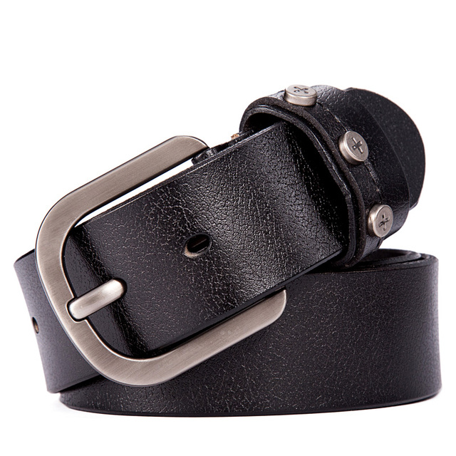 2015 100% Genuine Leather belts for men belt brand ceinture homme fashion Metal buckle men belt leather cintos LW513
