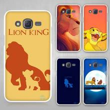 lion king movie Hard White Case Cover for Samsung Galaxy J1 J2 J3 J5 J7 C5 C7 C9 E5 E7 2016