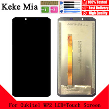 Keke Mia 6.0 inch For Oukitel WP2 LCD Display Touch Screen Assembly Phone Parts For Oukitel WP2 Screen LCD Display Free Tools