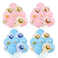 QIFU Oh Baby Boy Party Baby Shower Decoraties Baby Shower Ballonnen Banner Baby Shower Meisje Gunsten Gifts Doop Gunsten Supplies 5