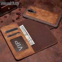 MAKEULIKE PU Leather Wallet Case For Huawei Mate 9 Detachable Magnetic Back Cover Pouch For Huawei Mate 9 Flip Case Bags