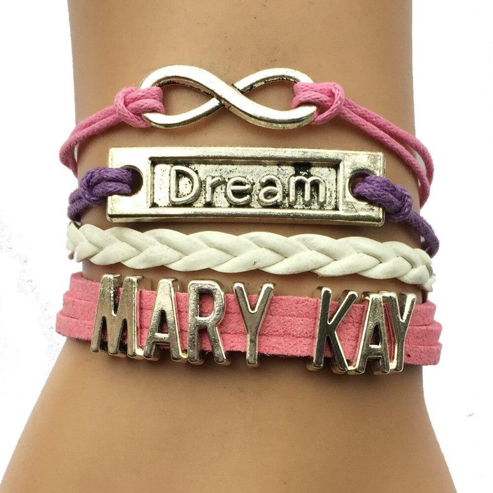 Kays Charm Bracelets: Drop Shipping Mary Kay Bracelet Custom Pink Infinity