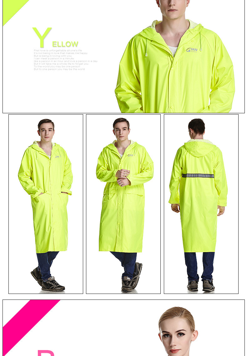 Impermeable Adults Last Style 8