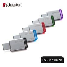Pendrive KINGSTON 64 GB USB 3.1 de Alta Velocidad 16G Unidad Flash USB 128 GB/64 GB/32 GB/16 GB/8 GB Real Capacidad 32G Pendrive USB Stick 128G
