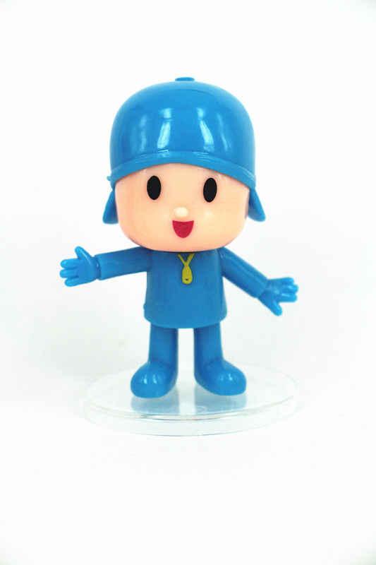 2019 5 pçs/set Dos Desenhos Animados Pocoyo Elly pato Loula Pássaro Sonolento Brinquedos Figuras de Ação PVC Crianças Brinquedos Zinkia Unisex Xmas Gift
