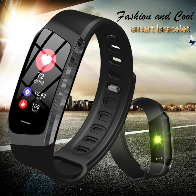 Orderly Binssaw Smart Watch Men Band Color Lcd Screen Fitness Bracelet Ip67 Waterproof Smart Band Heart Rate Ios Android Phone Watches Invigorating Blood Circulation And Stopping Pains Watches