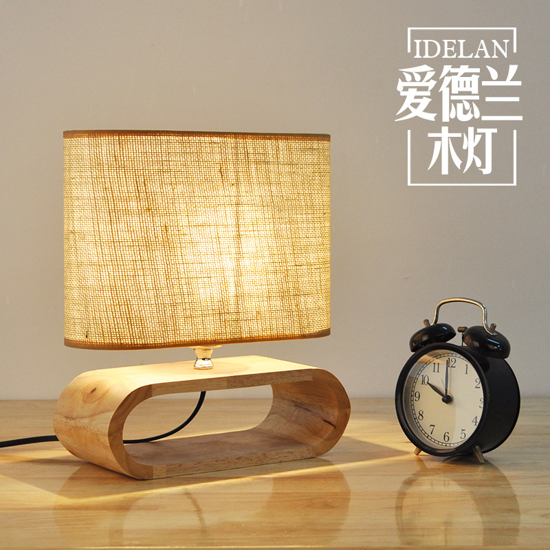 Modern Nordic Wooden table lamp Living Room Restaurant Hanging lights Stylish Logs LED Home Light chinese style classical wooden sheepskin pendant light living room lights bedroom lamp restaurant lamp restaurant lights