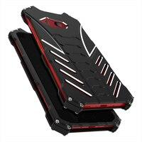 Nhôm Kim Loại Điện Thoại Back Cover Đối Với HTC U11 Cộng Với Trường Hợp Armor Batman Chống Sốc Bảo Vệ Vỏ Khung Đen Các Trường Hợp Cho U-ultra