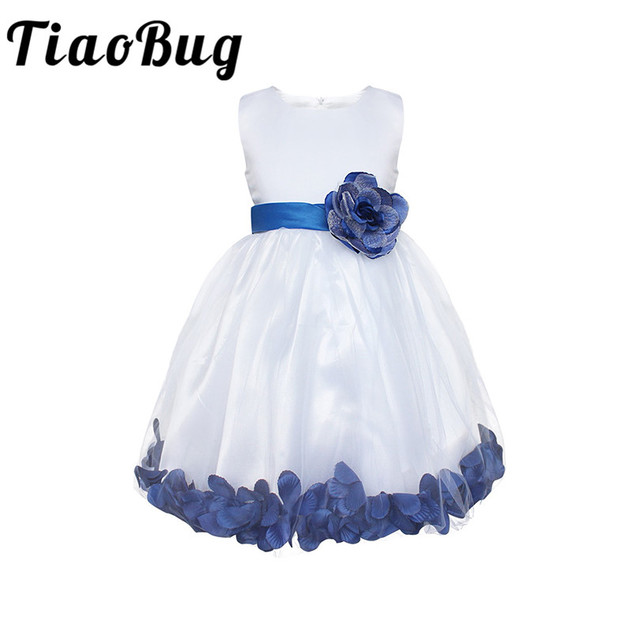 Tiaobug new 8 colors baby flower girl dresses rose petals princess tiaobug new 8 colors baby flower girl dresses rose petals princess pageant party dresses formal first mightylinksfo