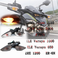 High quality Front/Rear Turn Signal For KAWASAKI Versys 1000/650 ER 6N ER6N ZRX 1200 ZRX1200 Motorcycle Indicator Light