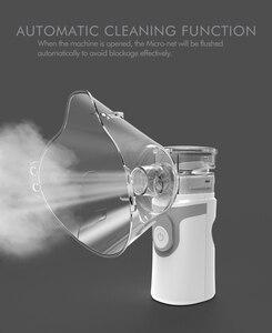 Image 3 - Portable Ultrasonic Nebulizer Mini Handheld Inhaler Respirator Humidifier Kit Health Care Children Home Inhaler Machine Atomizer