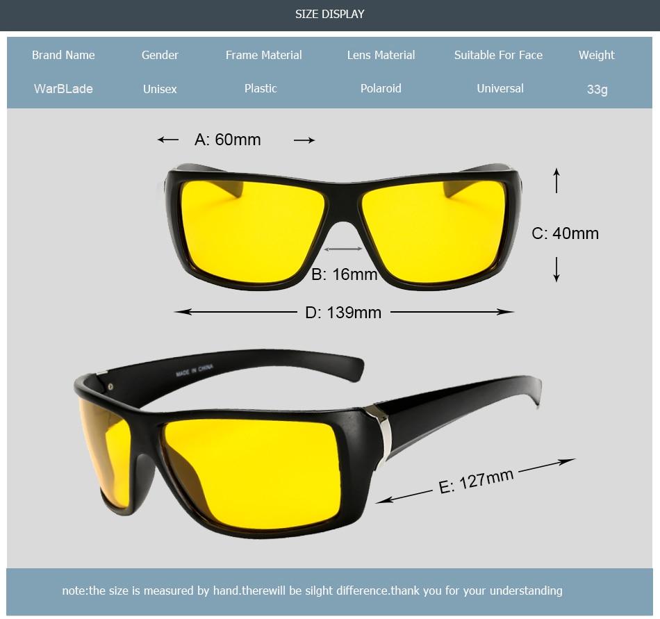 Gafas de visión nocturna WarBLade para gafas de sol de conducción - Accesorios para la ropa - foto 3