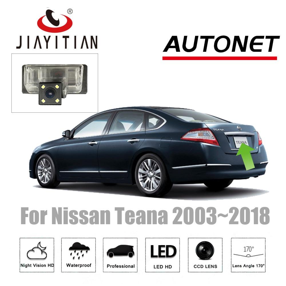medium resolution of jiayitian rear view camera for nissan almera teana j31 j32 l33 altima ccd