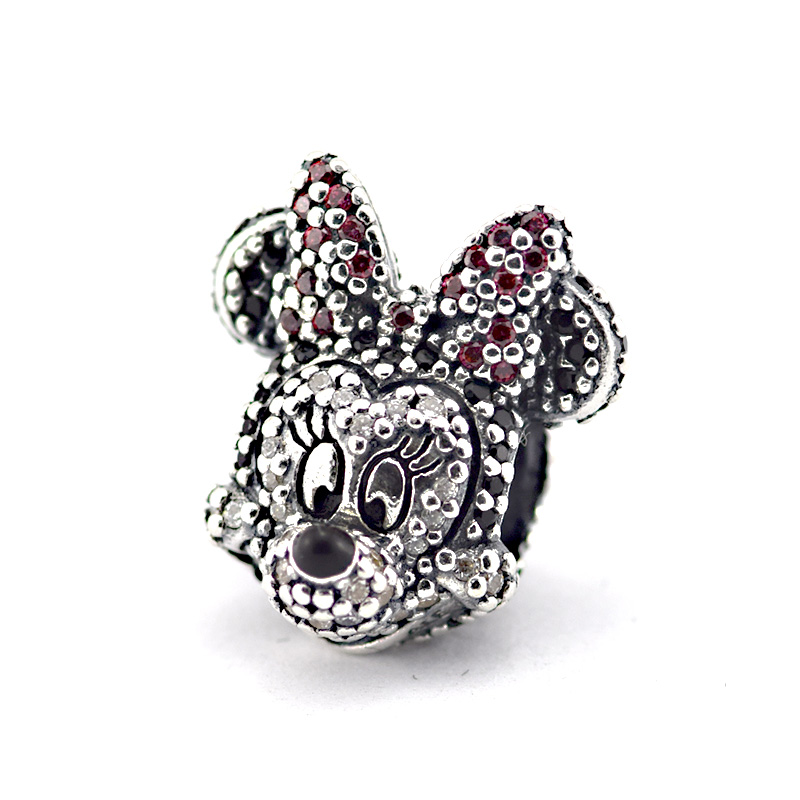 Fits Silver Charm Bracelet Orginal Silver 925 Beads Mouse Charms With CZ  Stones Women DIY 925 Sterling Silver Jewelry Wholesale 0f0ea4ba607b