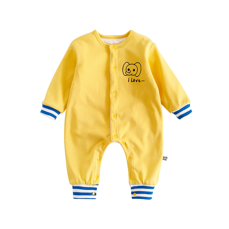 dcbfb780beb5 Baby Boy Clothes Girl Jumpsuits Winter Newborn Cartoon Panda Toddler Long  Sleeve Outerwear Clothing Rompers Infant Warm Overalls Tags
