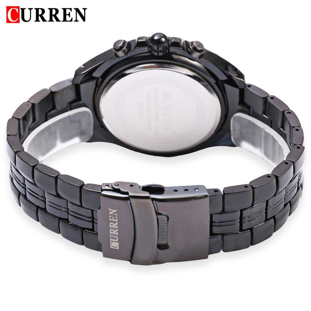 2018 New Curren 8083 Horloges Heren Luxe Merk Militaire Heren horloge - Herenhorloges - Foto 3