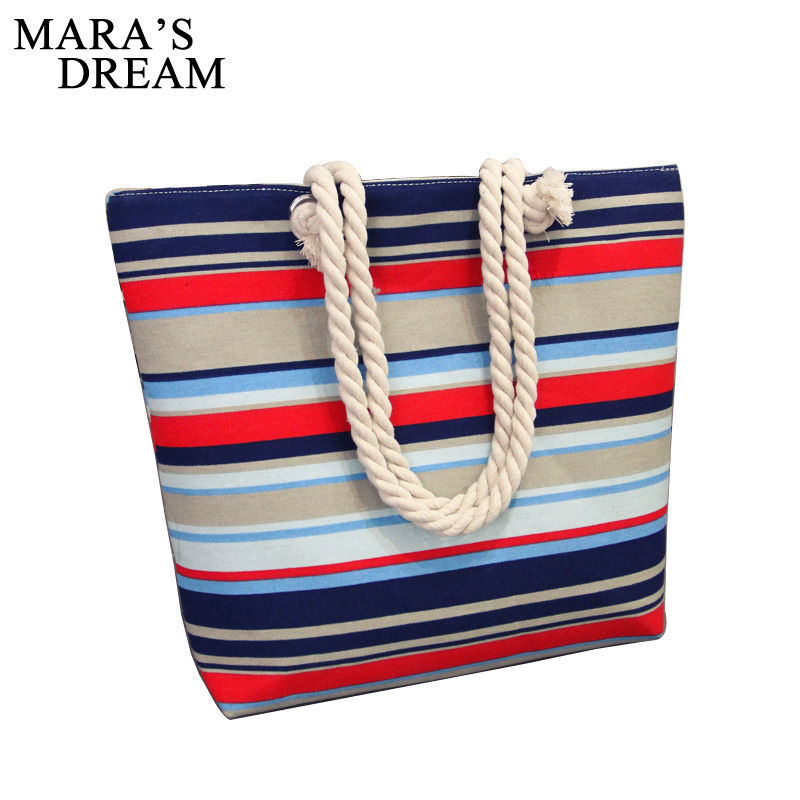 Mara's Dream 2018 Women Floral Handbag Large Capacity Zipper Canvas Shoulder Bag Shopping Bag Beach Bags Casual Tote Feminina excelsior waterproof canvas casual zipper shopping bag large tote women handbags floral printed ladies single shoulder beach bag
