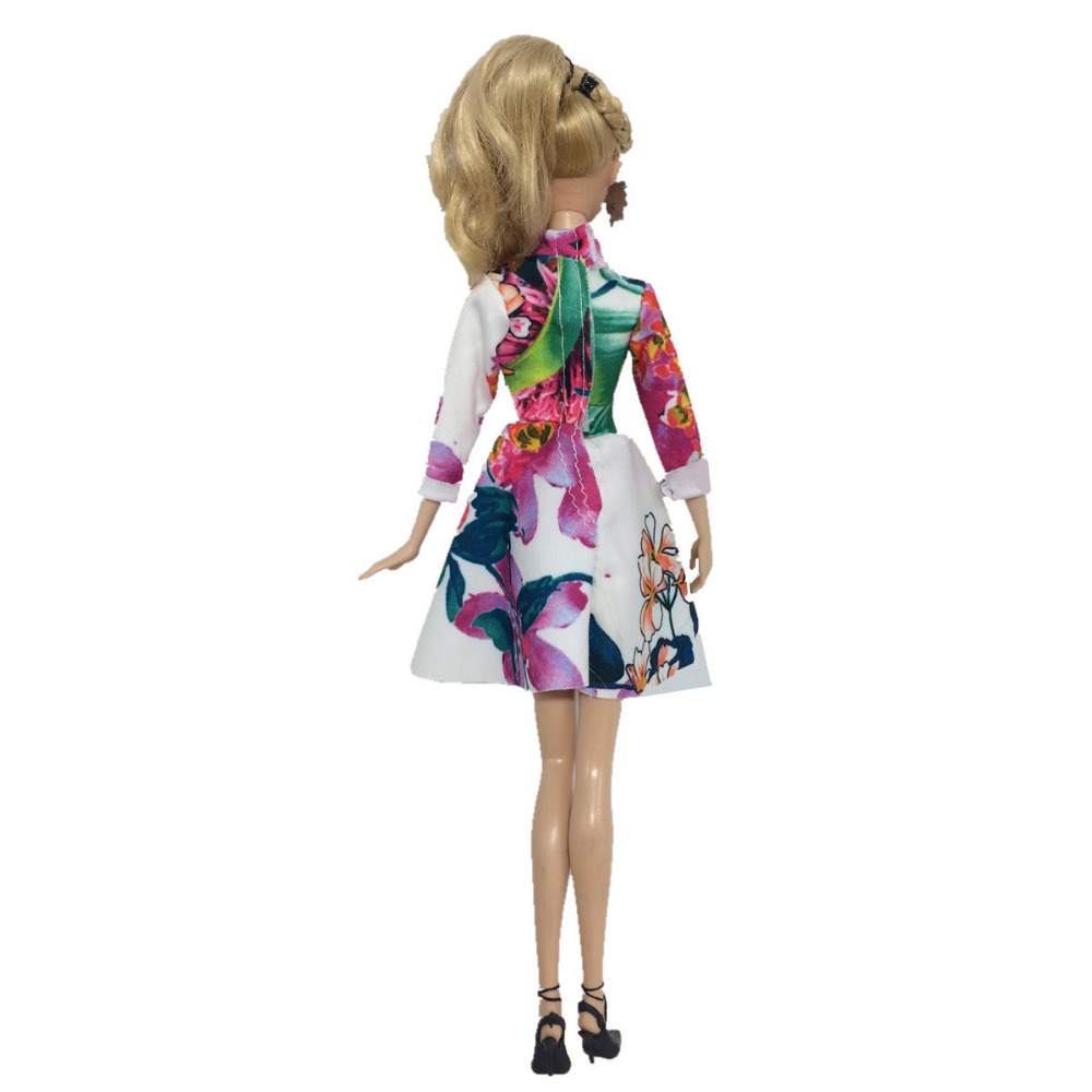 NK 2019 Newest Doll Dress Beautiful Handmade Party ClothesTop Fashion Dress  For Barbie Noble Doll Best. sku  32720194782 ac01bebd1352