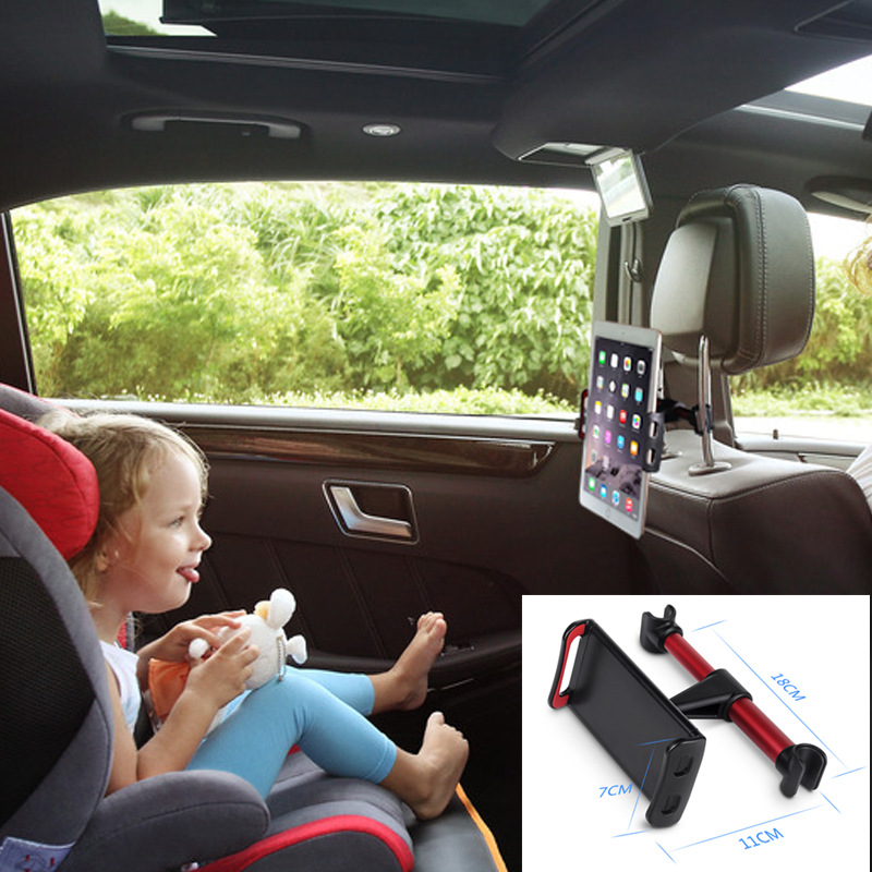 ZUCZUG 4-11 inch Phone Tablet PC Car Holder Stand Back Auto