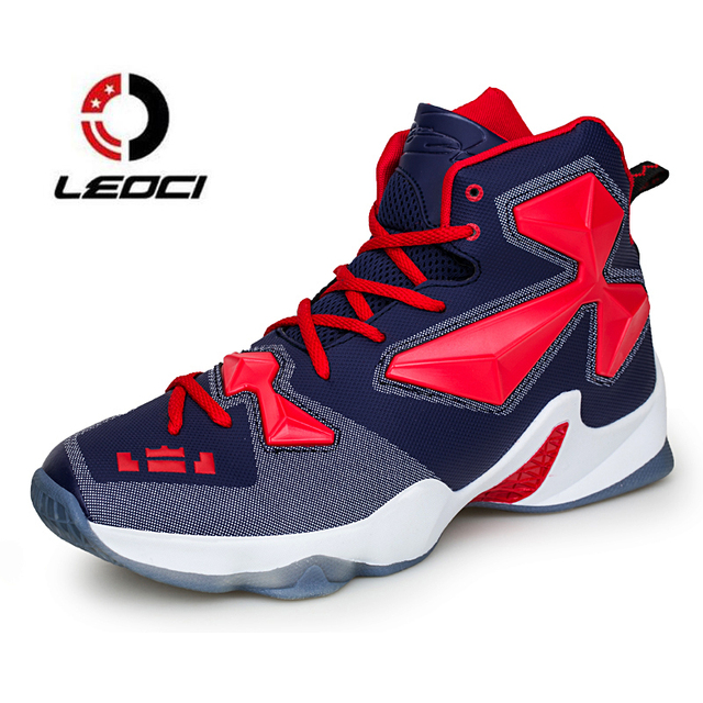 innovative design 3e351 bf8b9 Hommes de Basket-Ball Chaussures de Haute Top Sports de Plein Air Bottes  Respirant Formateurs