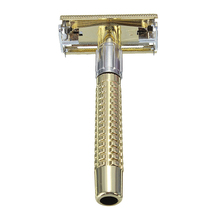 חדש גברים של בטיחות כף יד ידני מכונת גילוח + גילוח קצה כפול להב תיבת גברים בארבר תער חד כלי להבים גילוח מכונת