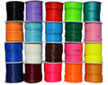 U Pick ! 100yards+2mm Korea Polyester Wax Cord Waxed Thread +Diy Jewelry Findings Hats Bracelet Rope Necklace String Accessories