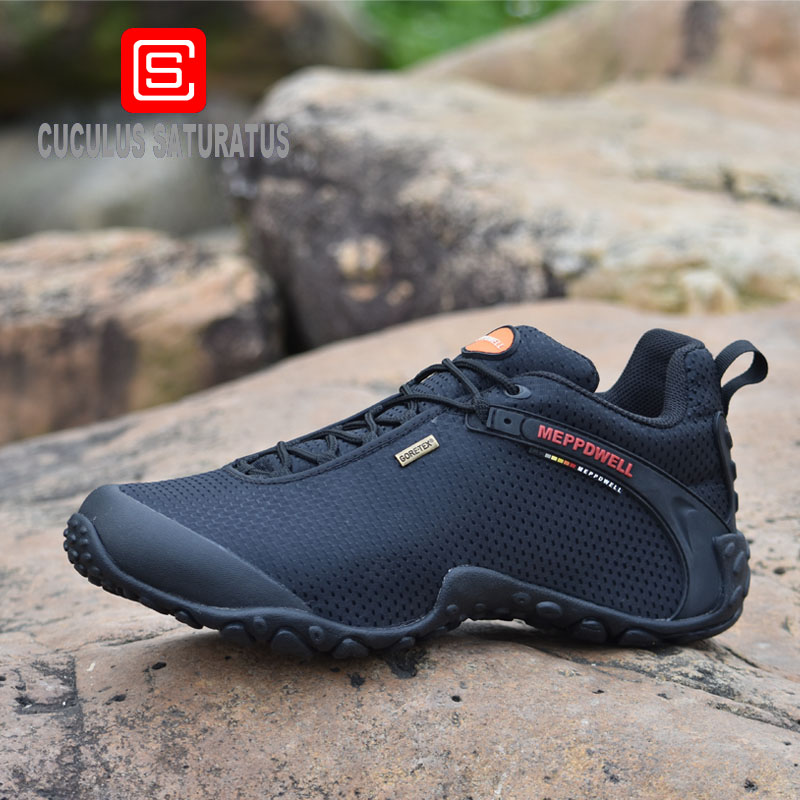 Brand Men Hiking Shoes Suede Climbing Boots Breathable Outdoor Sports Trekking Sneakers Free Shipping 224-6 original adidas men s hiking shoes m18502 outdoor sports sneakers free shipping