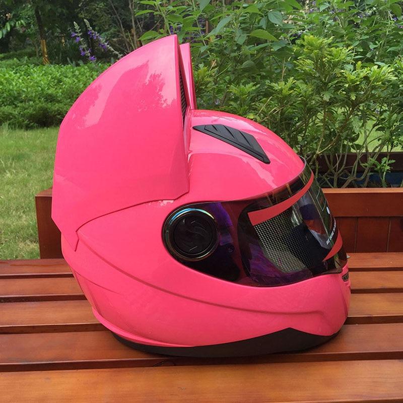 2017 Motorcycle motorcycle helmet Full Face helmet dual lens Genuine Abs material safety helmets