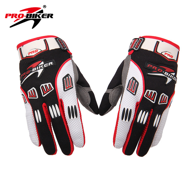Pro-biker motocross guantes transpirable antideslizante guantes luva guantes de moto guantes de carreras de motos de motocross desgaste
