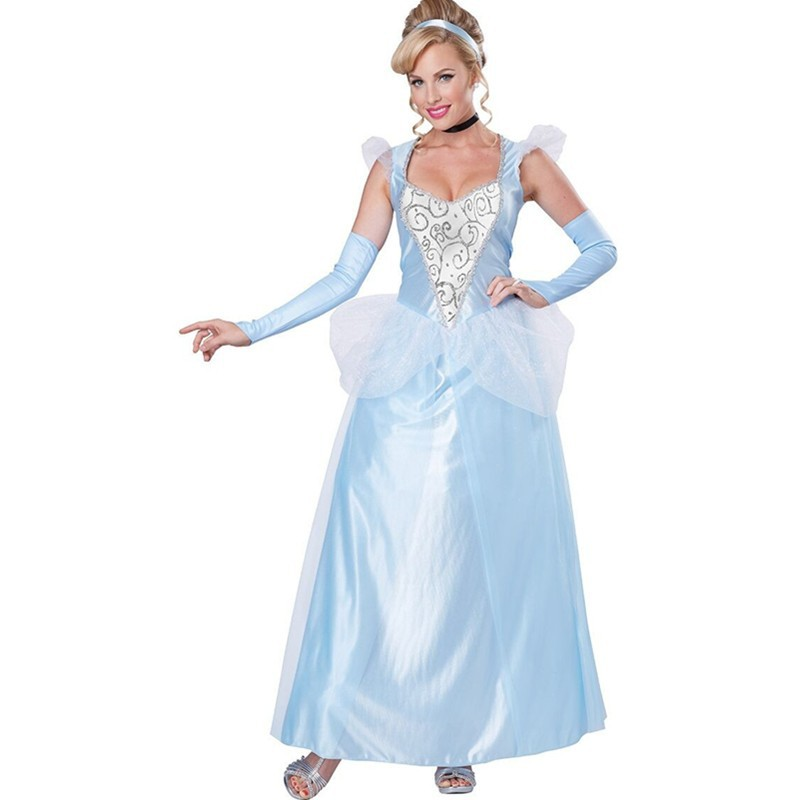New 2015 China Adult Girls Chiffon Overlay Princess Costume Cosplay Halloween&Movies and Game Fancy Dress Costumes L15243 L15243 (3)800x800