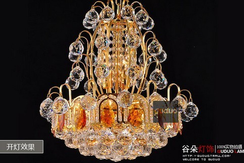 EMS FREE SHIPPING Fashion fashion crystal lamp pendant light lamp stair lighting lamps free shipping ems fashion big pendant light wrought iron lighting stair lamp double layer house lights fashion lamps