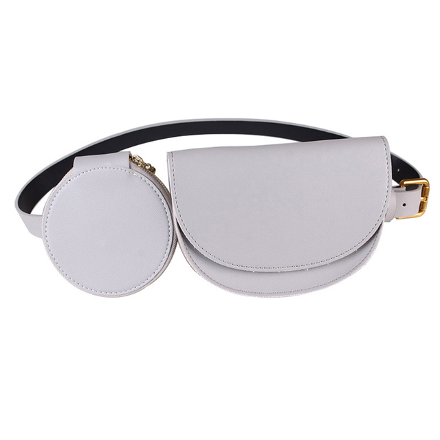 PU Leather Fanny Pack...