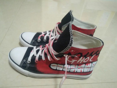 3D TOKYO GHOUL HIGH TOP SHOES