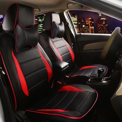 Housses de siège de voiture pour AUDI A4L A6L Q3 Q5 Q7 A7 A3 BMW 320i 328li 316i Mini One benz GLK300 C200L GLK260 C180L coussin en cuir ensemble