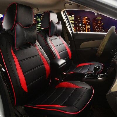 car seat covers for AUDI A4L A6L Q3 Q5 Q7 A7 A3 BMW 320i 328li 316i Mini One benz GLK300 C200L GLK260 C180L leather cushion set
