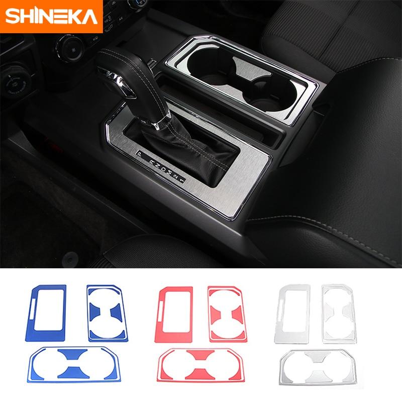 SHINEKA Auto Getriebe Panel Tasse Halter Dekorative Abdeckung Trim ...