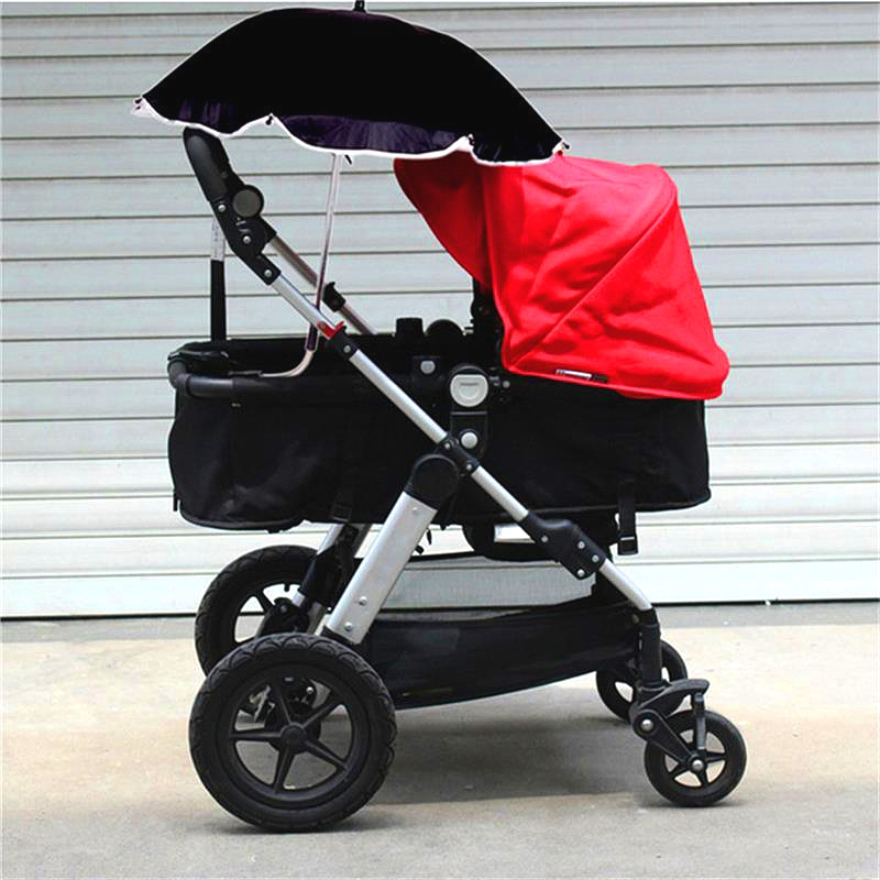 Universal Kids Stroller Pushchair Parasol UV Ray Shade Sun Protection Umbrella Adjustable Folding For Chair