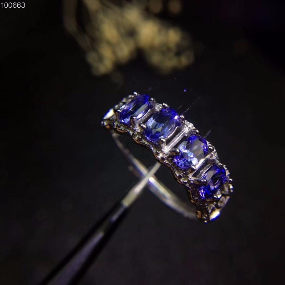 Super สวยสไตล์ธรรมชาติ tanzanite แหวน, แหวน, multi   grain, หินธรรมชาติใน mining area, 925 เงิน-ใน ห่วง จาก อัญมณีและเครื่องประดับ บน   2