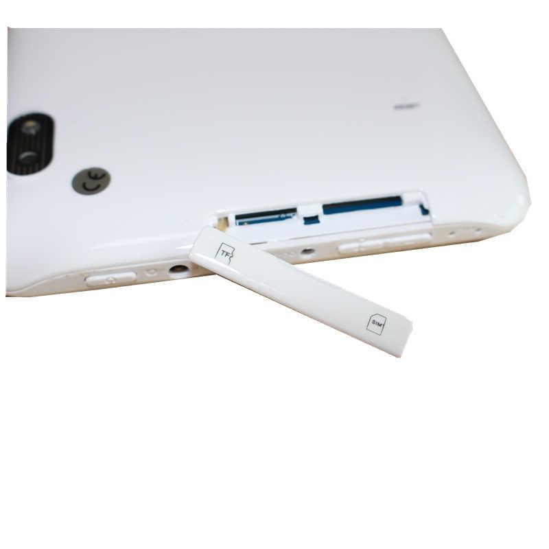 7 بوصة 86V 2G مكالمة هاتفية A33 رباعية النواة الروبوت 4.4 512MB + 4GB 1024*600 كاميرا مزدوجة الأبيض اللوحي