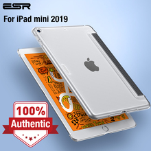 ESR Case for iPad Mini 5 2019 Clear Hard Shell Perfect Match with Smart Keyboard Smart Cover Slim Fit Back Case for iPad mini 5