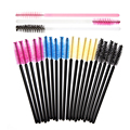 100 PCS/pack Disposable Eyelash Brush Mascara Applicator Cosmetic Eyelash Extension Make Up Tools