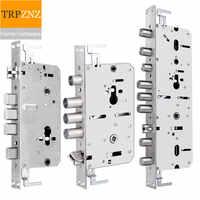 6068Intelligent fingerprint lock body/cylinder,panel size 24/30*240,40*388 stainless steel body, for Security door lock