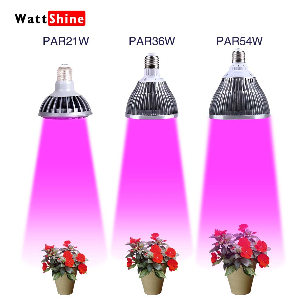 Wattshine Indoor or Desktop Plants LED Grow Light Flexible Lamp LED Plant Growth Light 21W