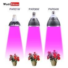 E27 plant grow led 21W 36W 54W Indoor or Desktop Plants LED Grow Light Flexible Lamp LED Plant Growth Light Free shipping
