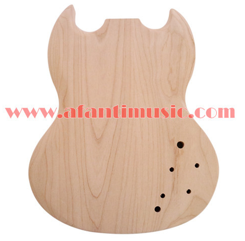 Afanti Music DIY SG Alder body Electric guitar body (AJB-157) цена