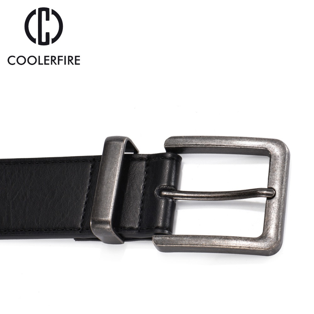 100 cowhide genuine leather belts for men cowboy Luxury strap brand male vintage wide jeans designer belt men high quality in Men 39 s Belts from Apparel Accessories