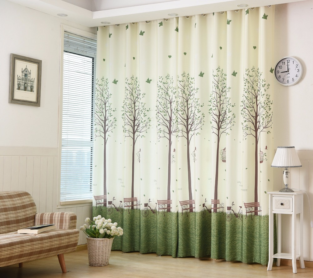 Online buy wholesale tree curtains from china tree for Order custom windows online