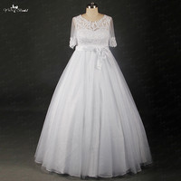 RSW802 Yiaibridal Real Job For Outdoor Wedding Shop Online China Pregnant & Plus Size Wedding Dresses With Sleeves