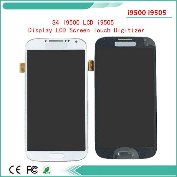 Rahmen touch <font><b>Lcd</b></font> display Für <font><b>Samsung</b></font> <font><b>Galaxy</b></font> <font><b>S4</b></font> <font><b>LCD</b></font> i9500 Bildschirm i9505 i337 <font><b>LCD</b></font> Display Bildschirm Touch <font><b>Screen</b></font> mit 3 mt band image